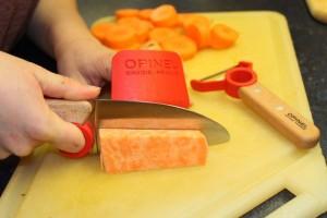 Knife and Peeler